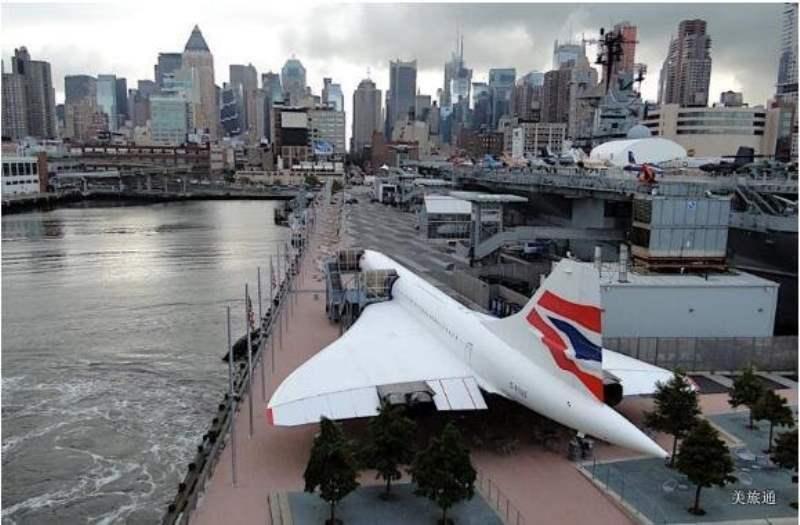 《英航协和式超音速客机British Airways Concorde》
