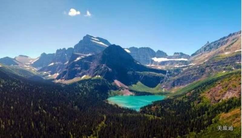 《Many Glacier景区》
