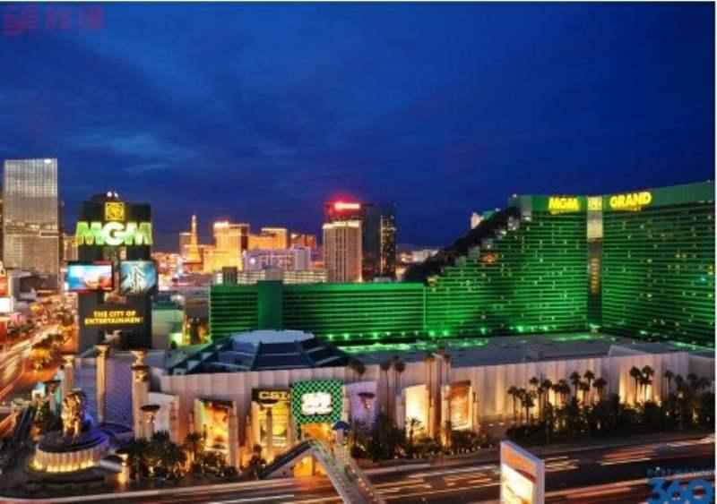 《拉斯维加斯的核心 - 酒店》