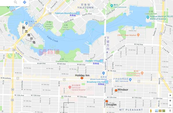 《温哥华2-3日游行程规划》