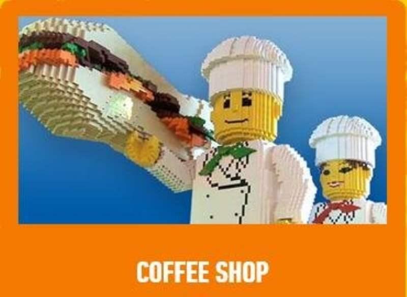 《乐高探索中心餐厅和商店》