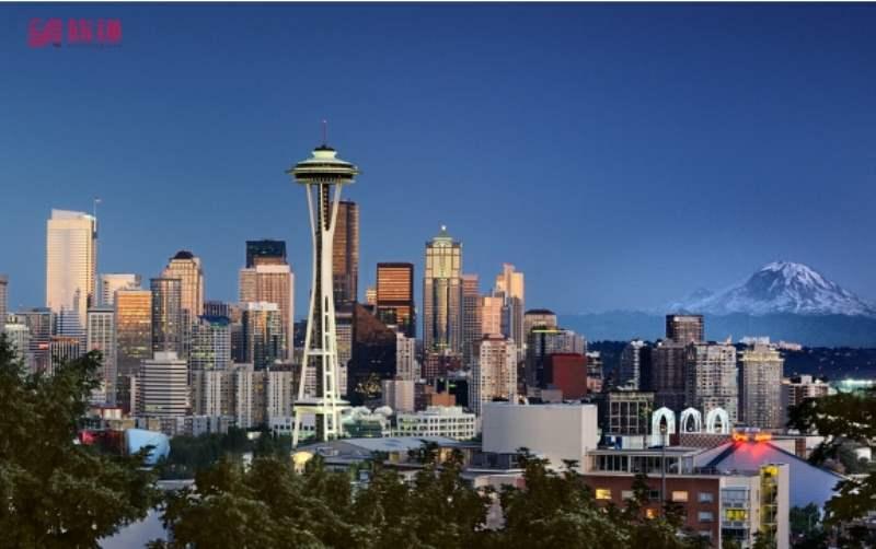 《西雅图的地理与气候》