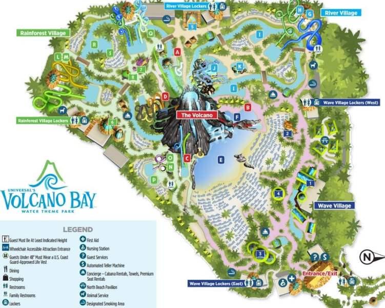 《火山湾的地图》