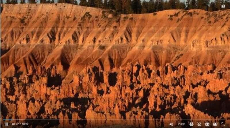 《布莱斯峡谷国家公园的视频》