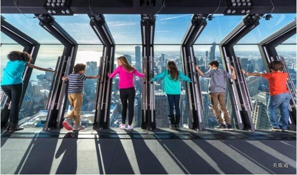 《360 Chicago 芝加哥约翰·汉考克大厦介绍美国旅游攻略组成员 美国旅游攻略》