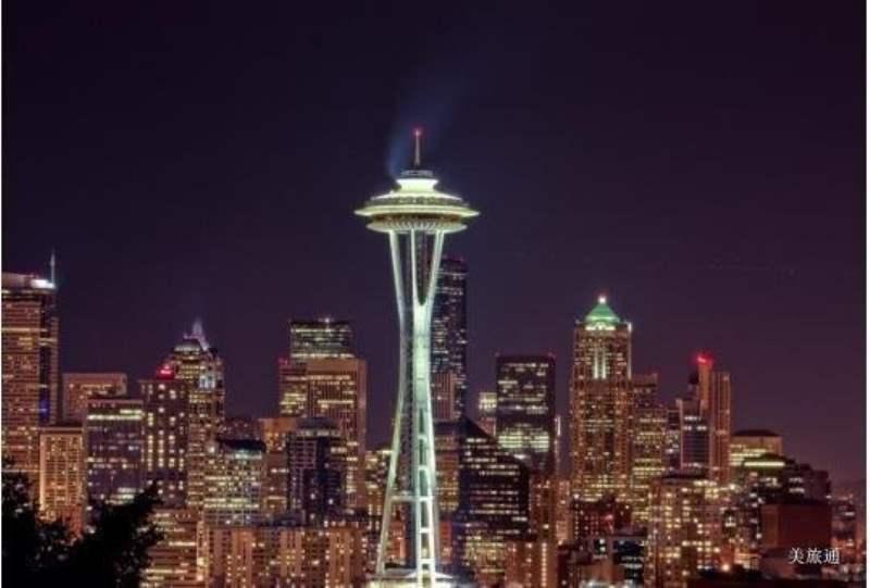 《西雅图观景点 - 俯瞰类》