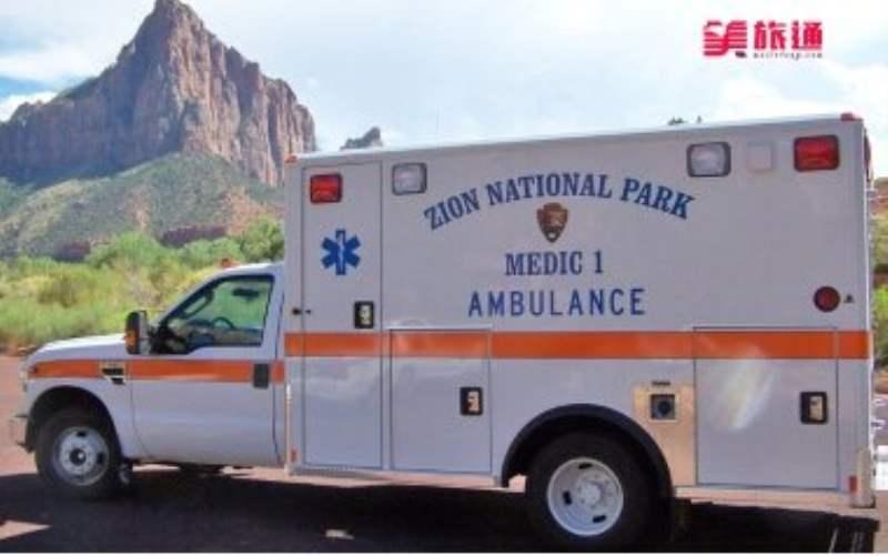 《锡安国家公园的安全》