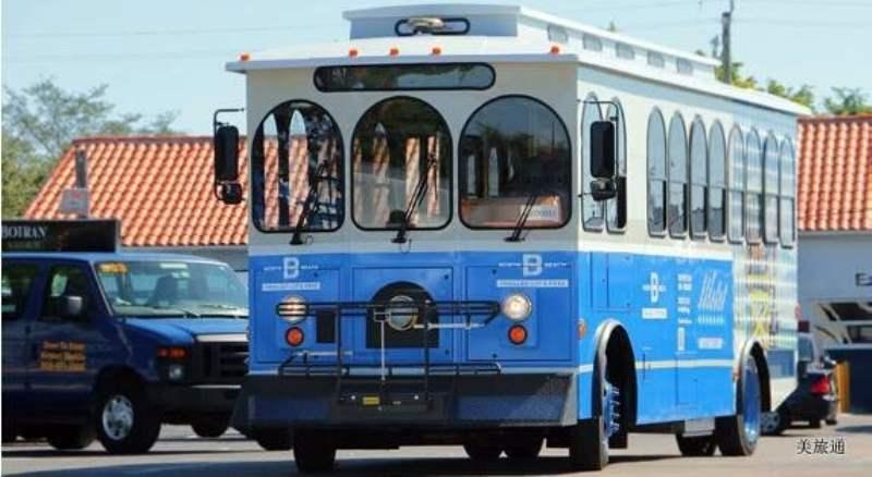 《迈阿密海滩内部的交通》