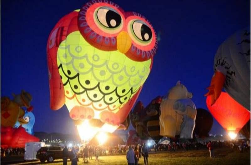 《阿尔伯克基热气球节》