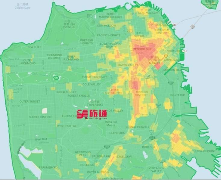 《旧金山不安全住宿区域》