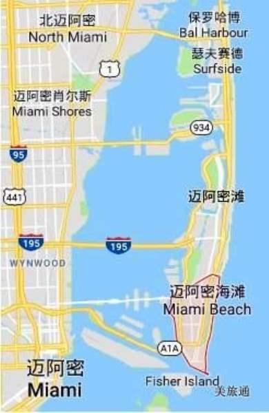 《南海滩和迈阿密海滩的区别》