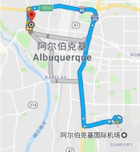 《阿尔伯克基的交通》