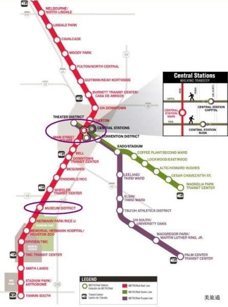 《休斯顿的交通与地图》