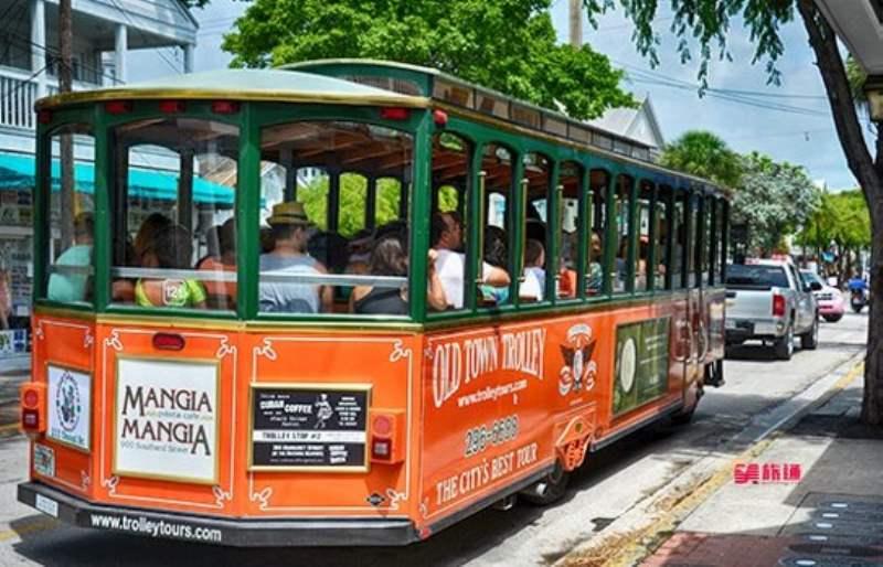 《Key West市内的公共交通方式》