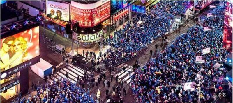 《时代广场跨年指南》