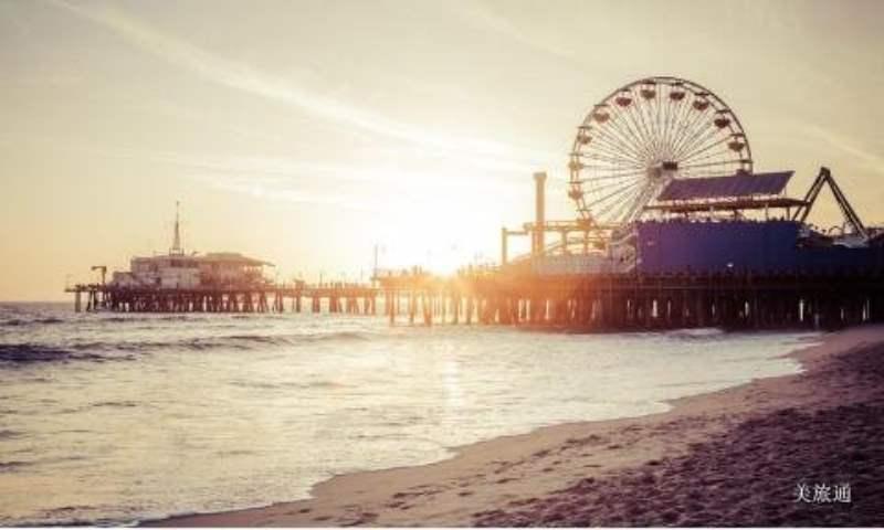 《洛杉矶的海滩》