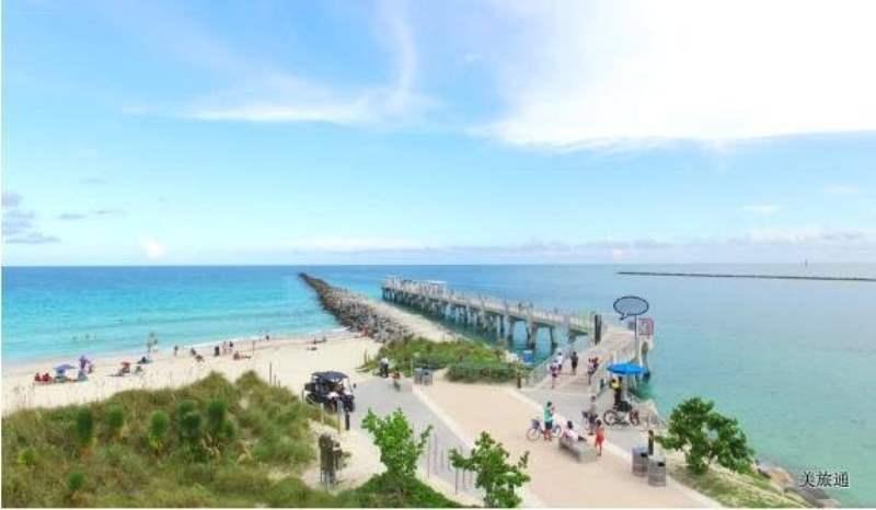 《南海滩区域的景点》