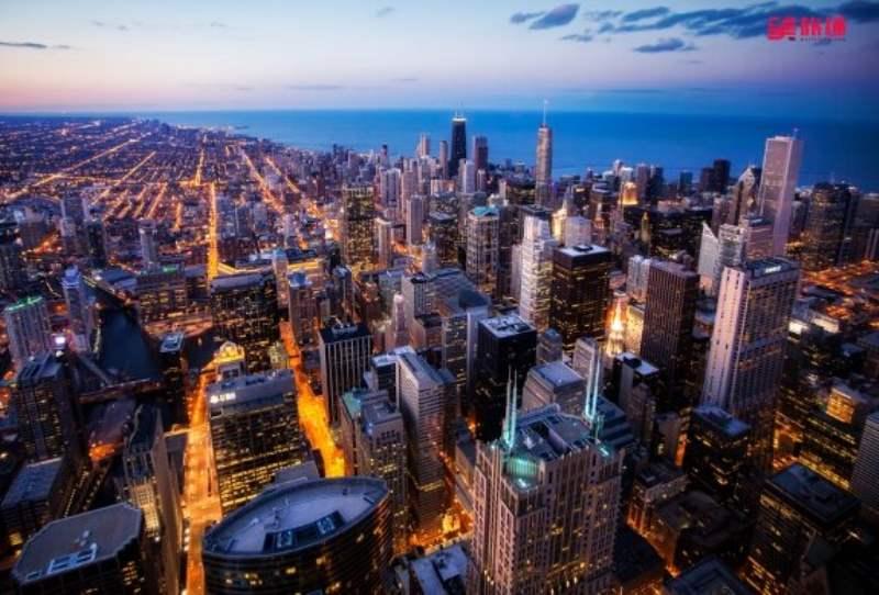《芝加哥的地理与气候》