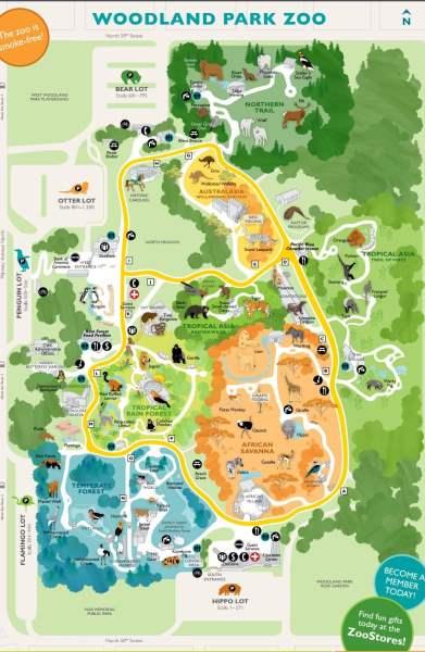 《林地动物园地图》