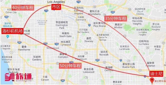 《洛杉矶机场到迪士尼的方法美国旅游攻略组成员 美国旅游攻略》