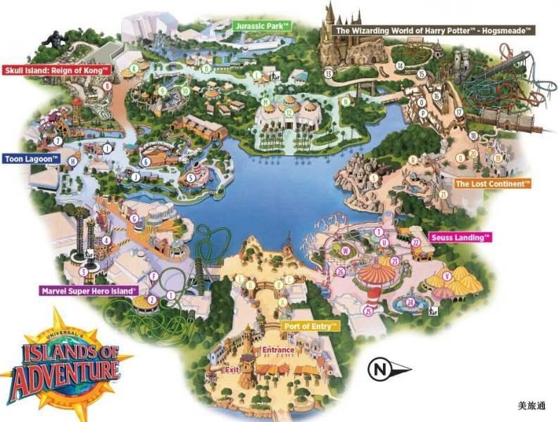 《冒险岛的地图》
