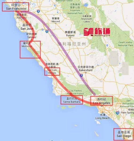 《美国加州一号公路简介》