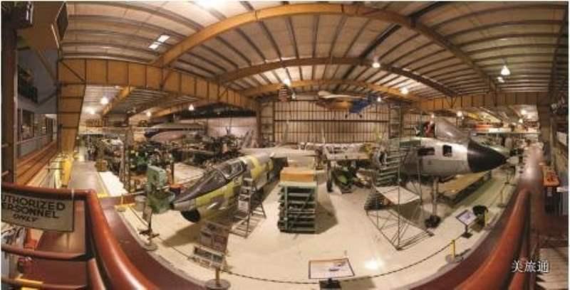 《西雅图飞行博物馆内的项目》