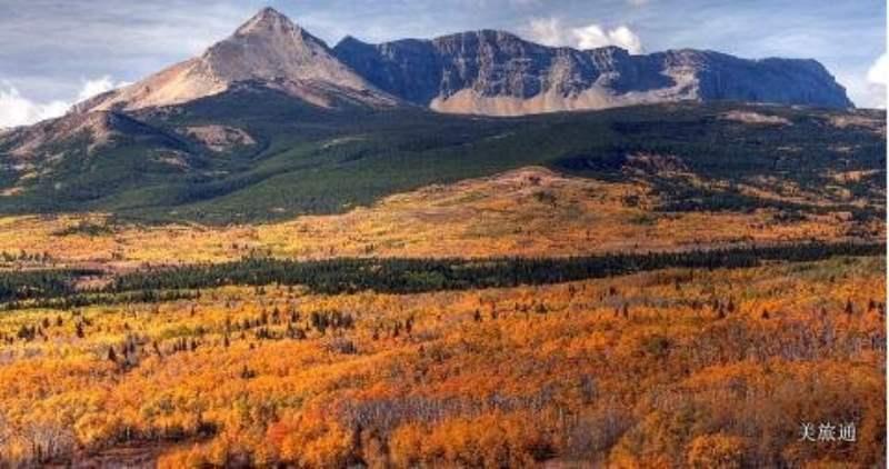 《冰川国家公园的最佳旅行季节》