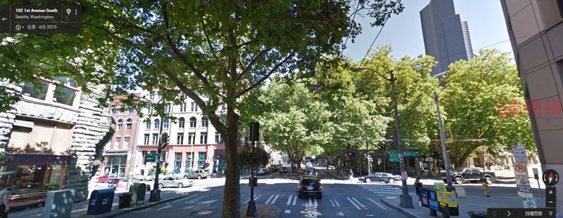 《西雅图街景截图美国旅游攻略组成员 美国旅游攻略》