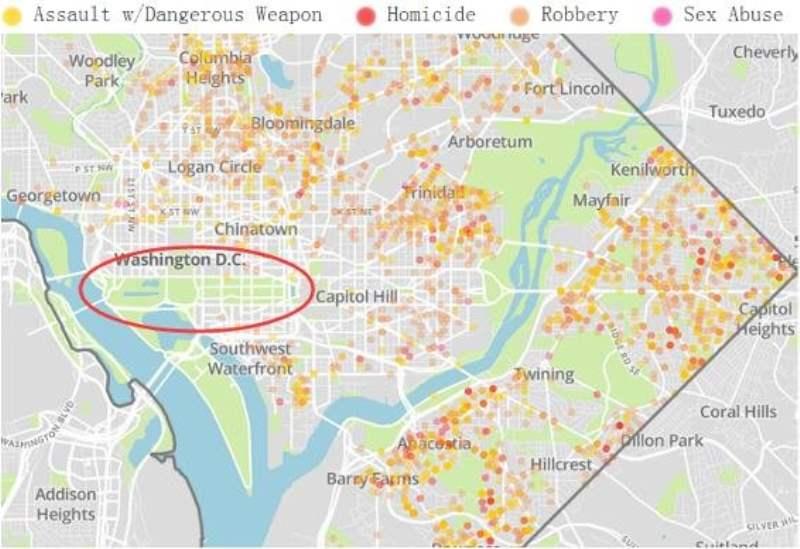 《华盛顿住哪里安全》