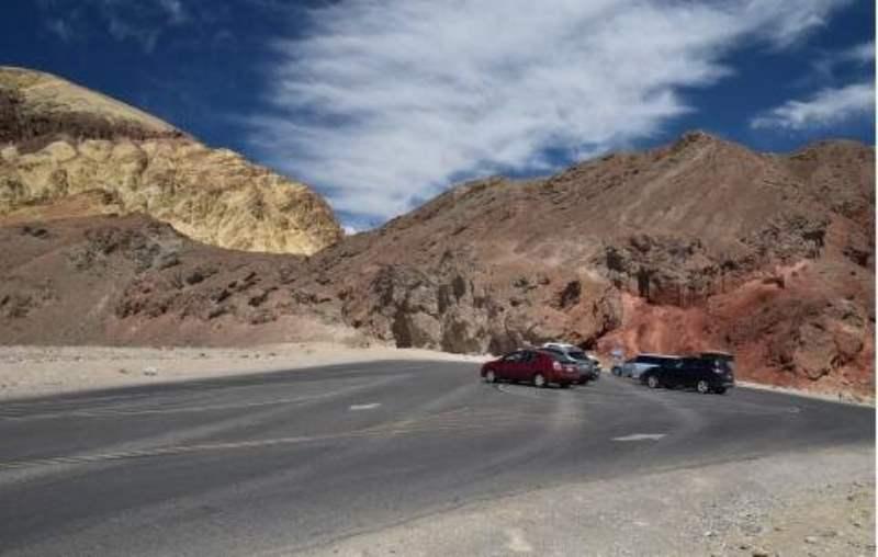 《死亡谷国家公园内的景点》
