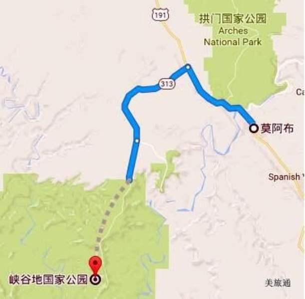 《如何去峡谷地国家公园》