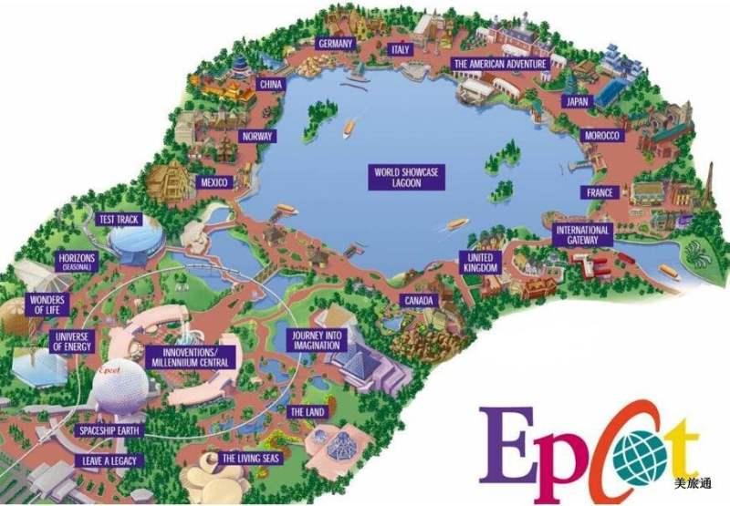 《迪士尼未来世界地图》