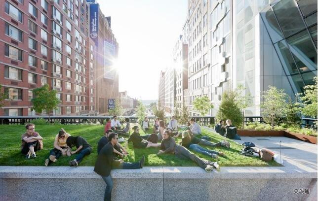 《纽约高线公园攻略美国旅游攻略组成员 美国旅游攻略》