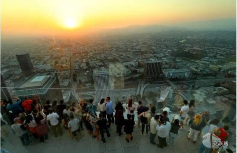 《可以俯瞰洛杉矶的景点》