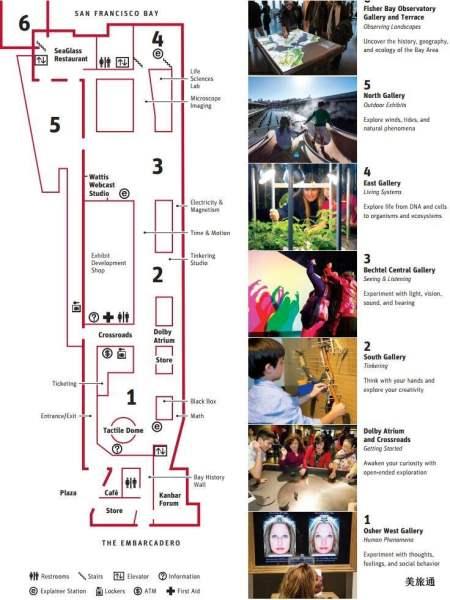 《科技探索博物馆平面图》
