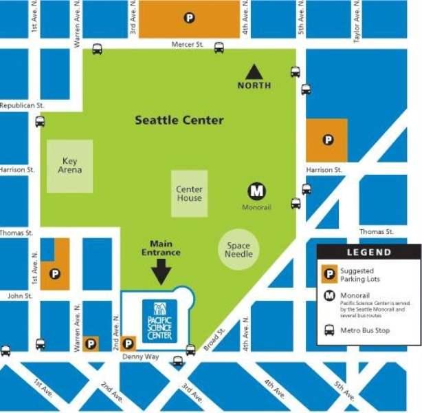 《如何去西雅图太平洋科学馆》