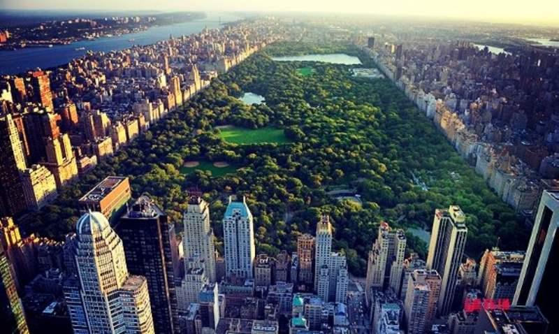 《纽约的著名公园》