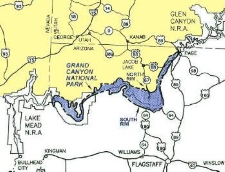《大峡谷的地理构造》