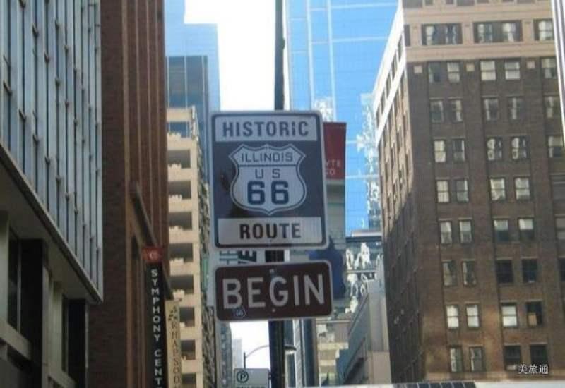 《66号公路的沿途景点 - 按州划分》