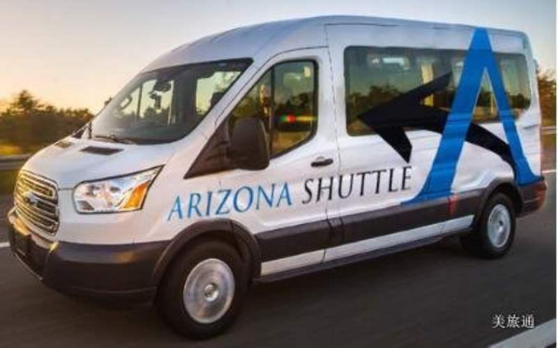 《方法1:公共交通 Arizona Shuttle Bus》