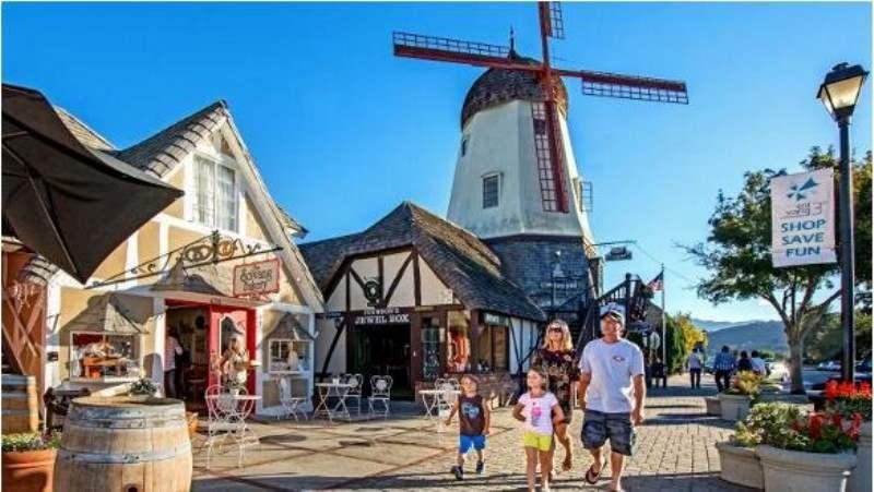 《Solvang Danish Village丹麦小镇》