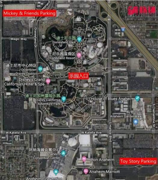 《如何从洛杉矶去迪士尼乐园》