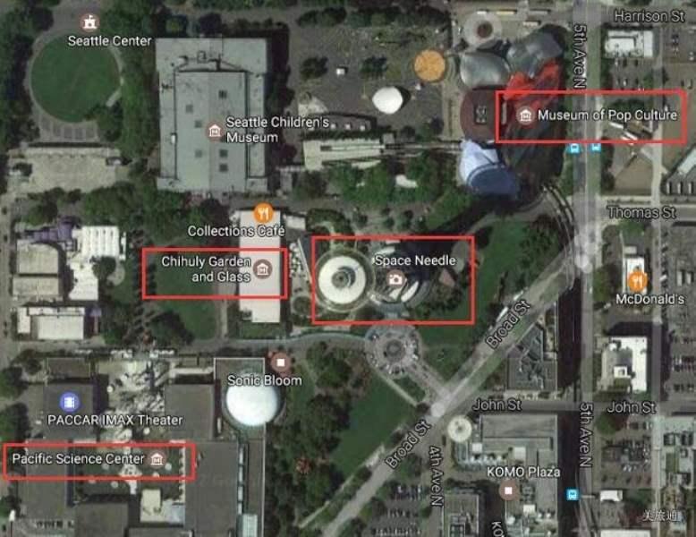 《西雅图流行文化博物馆的交通》