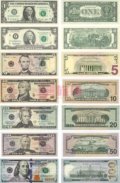《关于美金》