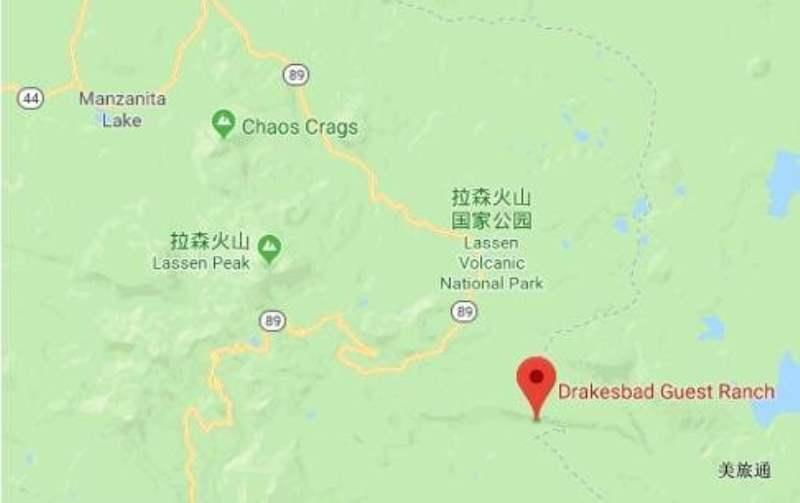 《拉森火山国家公园的住宿》
