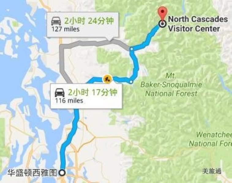 《如何去北瀑布国家公园》
