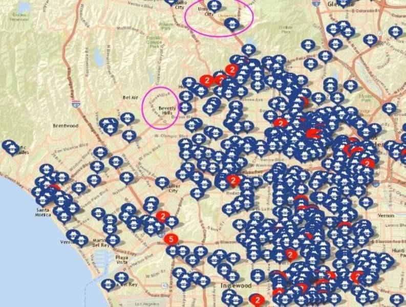 《洛杉矶住哪里安全》