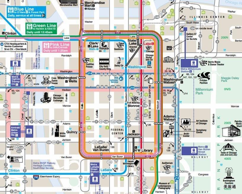 《芝加哥地铁攻略美国旅游攻略组成员 美国旅游攻略》