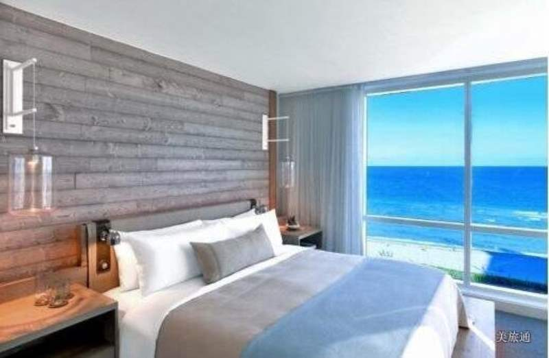 《南海滩的住宿》